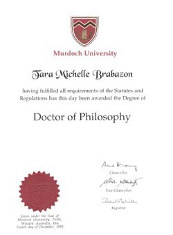 Doctor of Philosophy